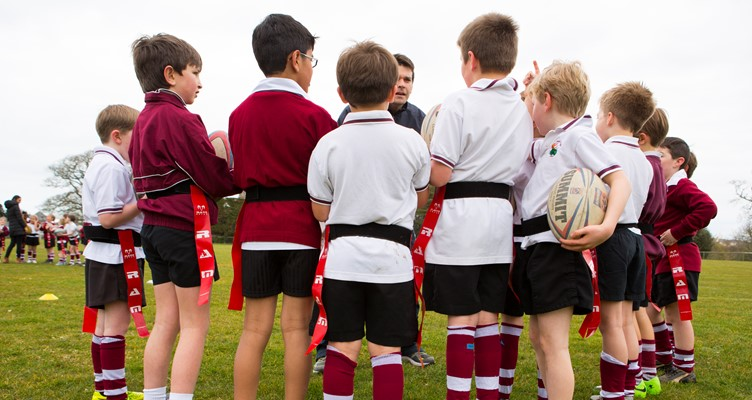 Primary Schools Tag Rugby Festival Image