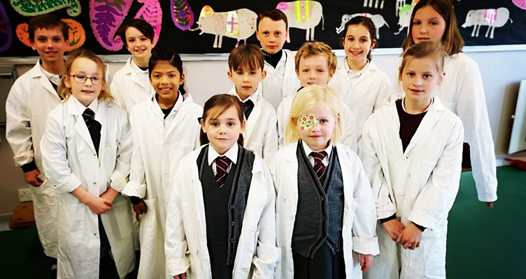Science Ambassadors' British Science Week Assembly Image