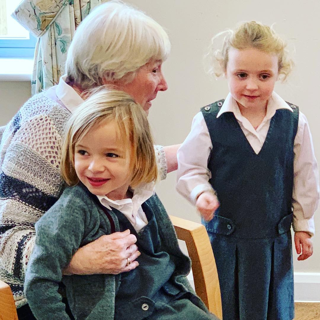 Our Little Dragons Nursery Pupils are Bridging the Generation Gap! Image