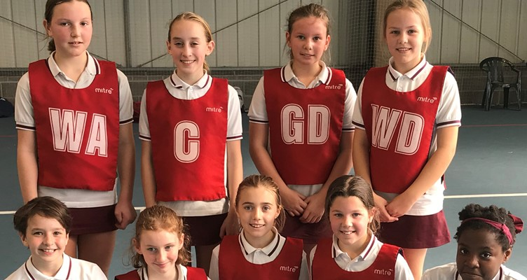St. George's Prep Netball A Team are League Winners! Image